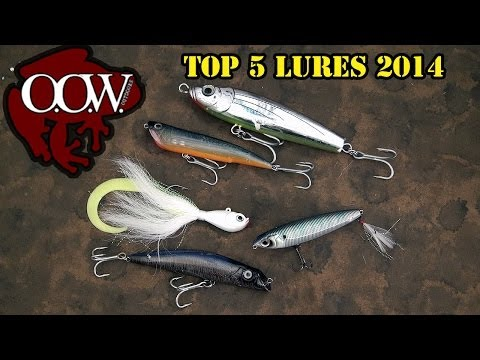 Top 5 Lures 2014: Stripers, Wipers & White Bass - OOW Outdoors