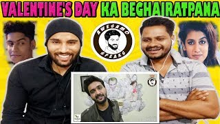 Indian Reaction On Priya Prakash Roast | VALENTINE'S DAY KA BEGHAIRATPANA By AWESAMO SPEAKS