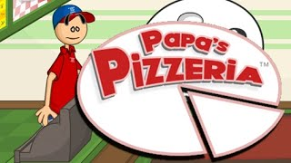 Papa's Pizzeria Full Gameplay Walkthrough All Levels