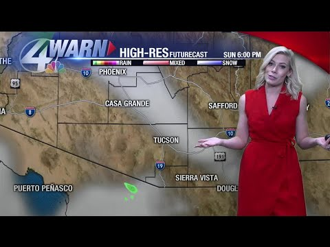 Weekend forecast: Drying trend resumes Sunday across Southern Arizona