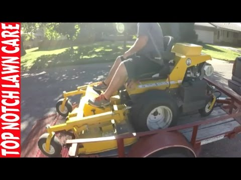 A Day with Top Notch, Lawn Care Vlog #133