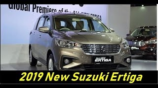 2019 New Suzuki Ertiga Review Test Drive, Price and Specifications Released