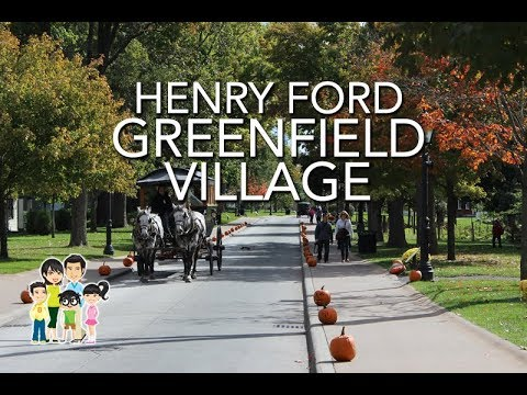 Henry Ford Greenfield Village in October | Detroit, Michigan