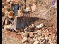 CATERPILLAR D9R Rock Work / Fa. Kirner Abbruch, A71 Rödelmaier, Germany, 12.06.2003.