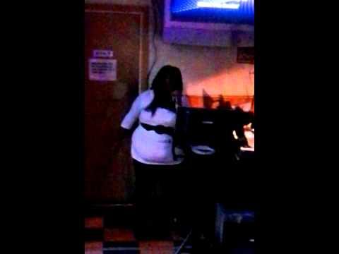 Dottie first song @ karaoke