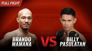 [HD] Brando Mamana vs Billy Pasulatan || One Pride FN #32
