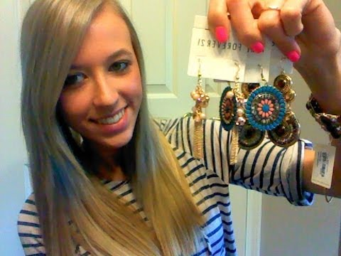 Forever 21 Jewelry Haul! & New hair!