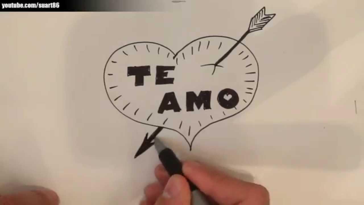 Dibujos de amor  YouTube