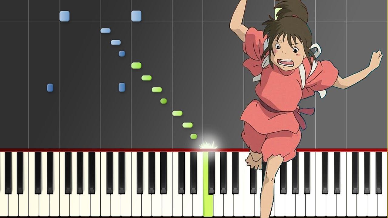 """【楽譜あり】あの夏へ/久石譲(ピアノソロ難易度★★★★☆)""""Spirited Away"""" - One Summer's Day [PIANO]"""