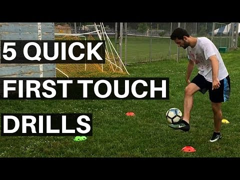 How To Have A Perfect First Touch - 5 Ball Control Drills