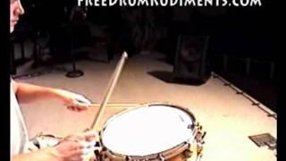 Single Flammed Mill - FreeDrumRudiments.com