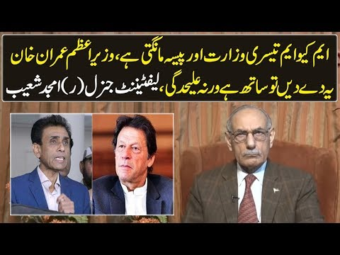 Lt Gen (r) Amjad Shoaib sums up what MQM actually wants from the government