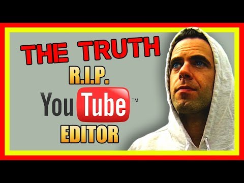 The Truth Behind Google Removing the YouTube Editor