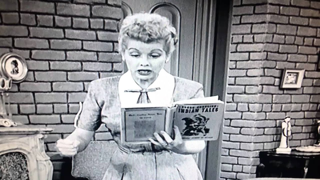 I Love Lucy The Indian Show Youtube
