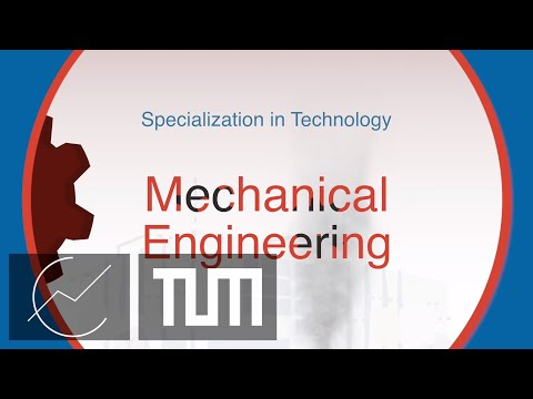 Specialization in Technology: Mechanical Engineering