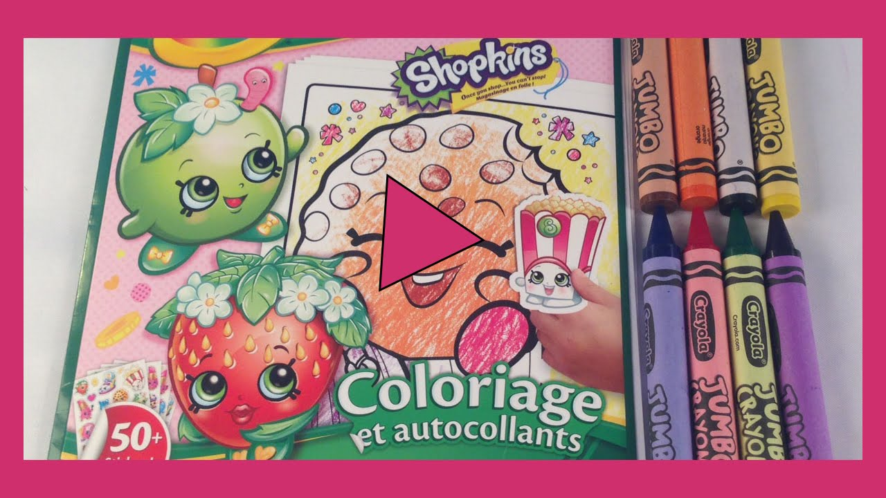 Where to buy shopkins coloring book - Shopkins Apple Blossom Coloring