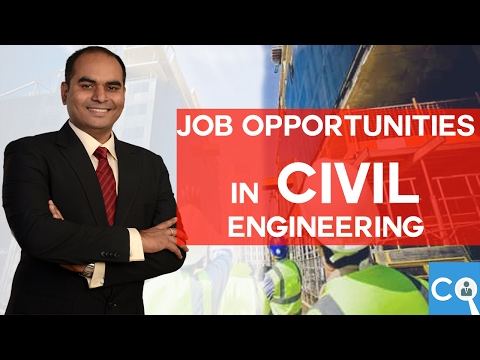 Job Opportunities in Civil Engineering