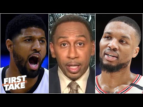 'Don't mess with Dame Dolla' - Stephen A. reacts to Lillard's beef with Paul George | First Take