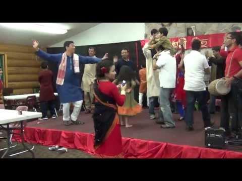 Mukoli bihu performed by all MN Assamese people