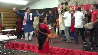 Mukoli bihu performed by all MN Assamese people