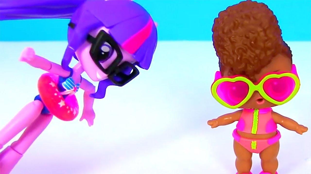 Мультик Куклы Лол! Вечеринка Фей и Принцесс Барби! Пони ...