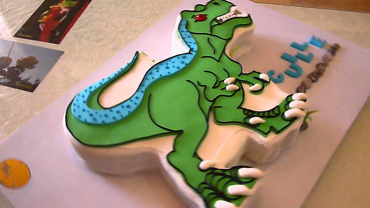 Dinosaurio QueXquisito para Guille en su cumpleaños YouTube