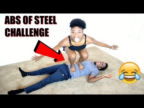 ABS OF STEEL CHALLENGE!! (STANDING STOMACH OF STEEL CHALLENGE)