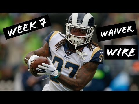 Fantasy Football Week 7: Waiver Wire Adds