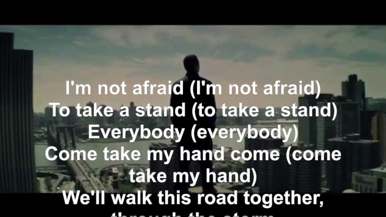 Eminem - Not Afraid lyrics English  2010