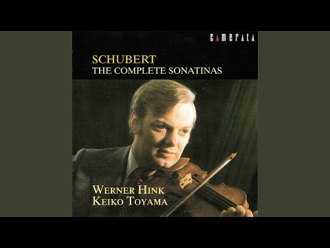Sonatina No. 2 for Violin and Piano in A Minor, Op. 137 No. 2, D. 385: III. Menuetto. Allegro