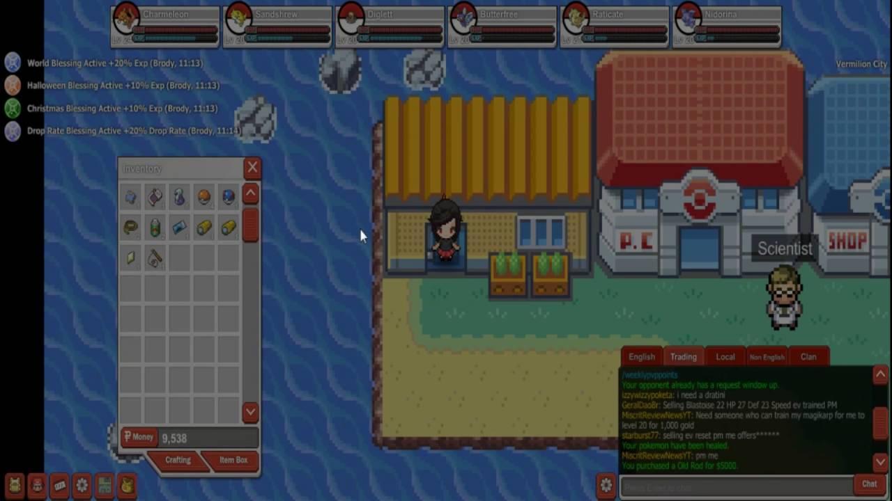 Pokemon Planethow To Get Old Rod Youtube