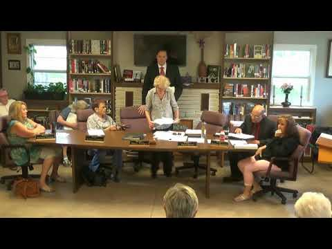 May 18 2018 Special Meeting