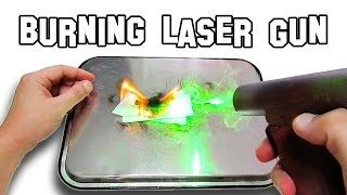 ✔ كيفية جعل حرق بندقية ليزر