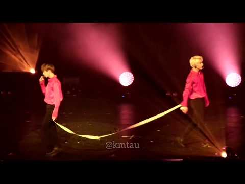 "[FANCAM] My I (준 Jun &  디에잇 The8) - 세븐틴 SEVENTEEN ""Diamond Edge"" Dallas 170823"