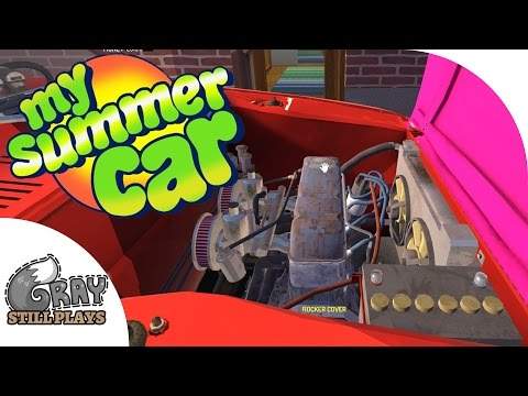 All Performance Parts Installed, Getting Ready To Race - My Summer Car Gameplay Highlights Ep 15