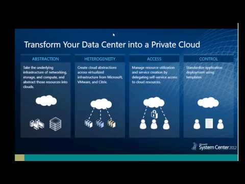 Building Microsoft Private Cloud Using System Center 2012