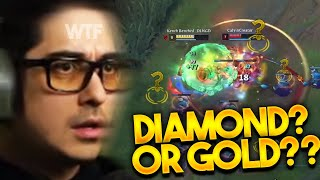 IS THIS DIAMOND OR GOLD??? I CAN'T TELL...... @Trick2G​