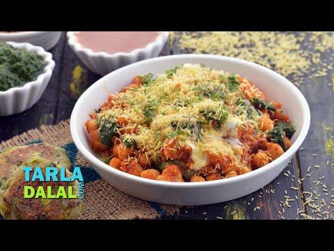 Chole Tikki Chaat by Tarla Dalal / Diwali Part recipe