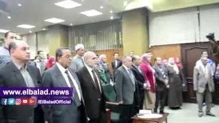 جامعة الفيوم تكرم أسر شهداء الجيش والشرطة.. فيديو وصور