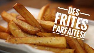 Des frites parfaites 🍟 croustillantes et moelleuses : Astuces 👌