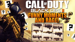 BO2 RANDOM WEAPON RAGING AND FUNNY MOMENTS! ep4