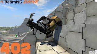 BEAMNG DRIVE #402 | Platt wie eine Flunder | Let's Play BeamNG Drive mit GCG [HD] [Alpha]