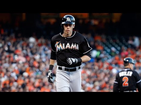 Christian Yelich Career Highlights / Miami Marlins