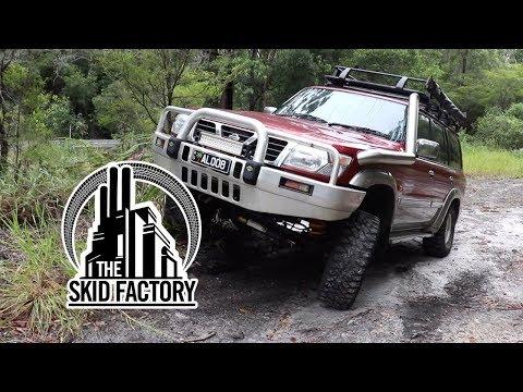 THE SKID FACTORY - Nissan Patrol TD42 Turbo Diesel Swap [EP5]