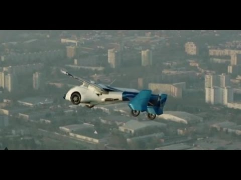 Crash AeroMobil 3.0