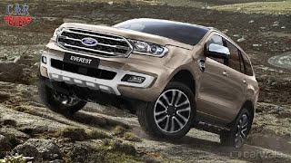 Ford Everest (Endeavour) facelift officially revealed  - Car Reviews Channel