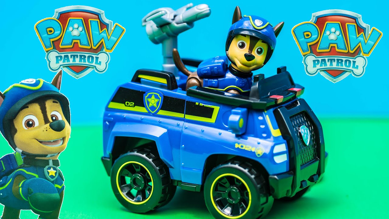 Unboxing The Paw Patrol Chase Spy Vehicle Toy   YouTube