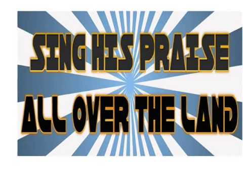 RISE UP AND PRAISE HIM With Lyrics