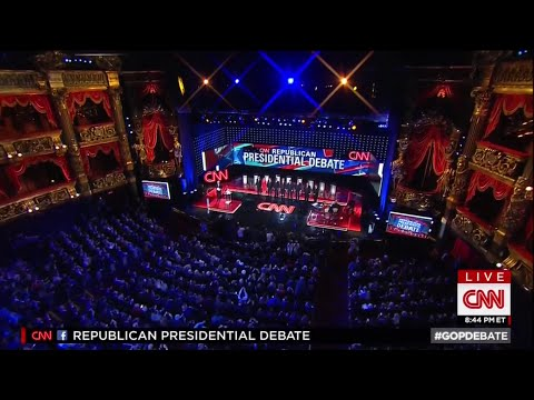 Fifth Republican Primary Debate - Main Stage - December 15 2015 on CNN