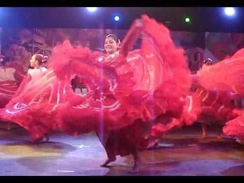 Colourful Paraguayan Folk Dance